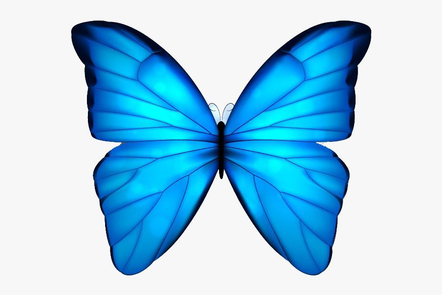 Butterfly Blue Clip Art - Beautiful Butterfly Blue Png, Transparent Clipart