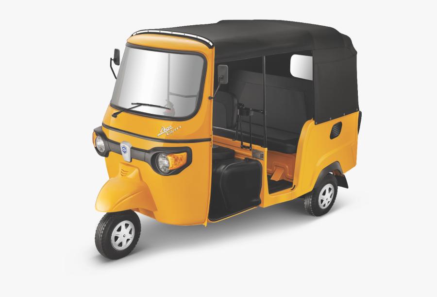 Piaggio Three Wheeler - Ape City Auto Png, Transparent Clipart