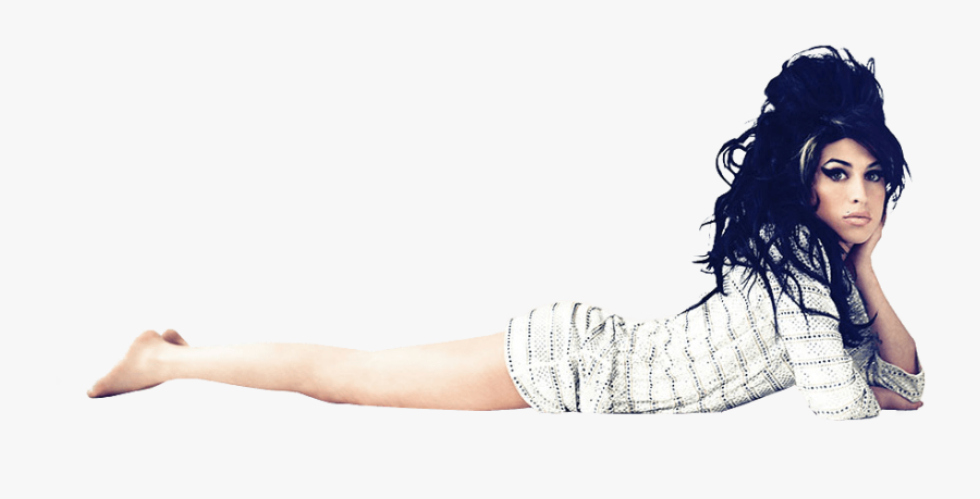 Amy Winehouse Lying Down - Amy Winehouse Png, Transparent Clipart