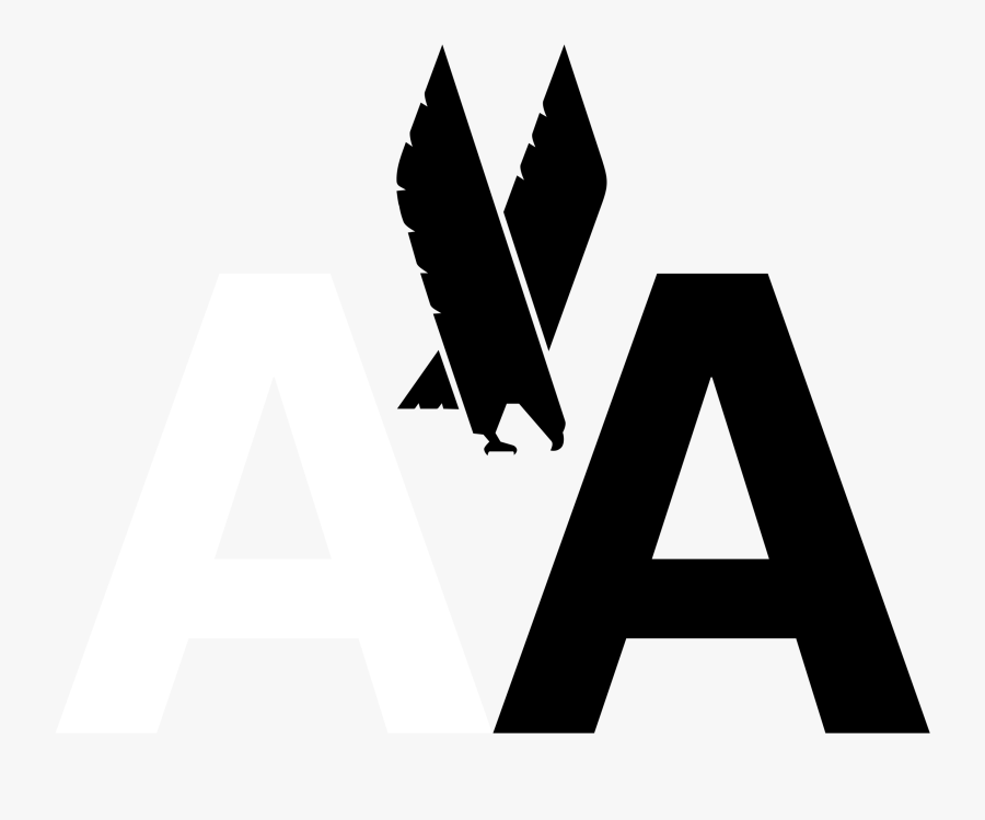 Clip Art Aa Png Transparent Svg - Massimo Vignelli American Airlines, Transparent Clipart