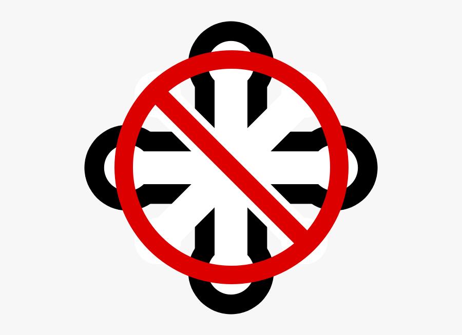Anti Svg - Circle, Transparent Clipart