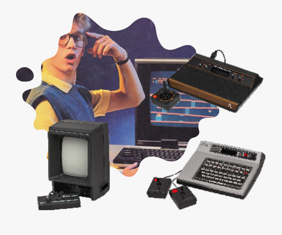 All Atari Consoles, Transparent Clipart