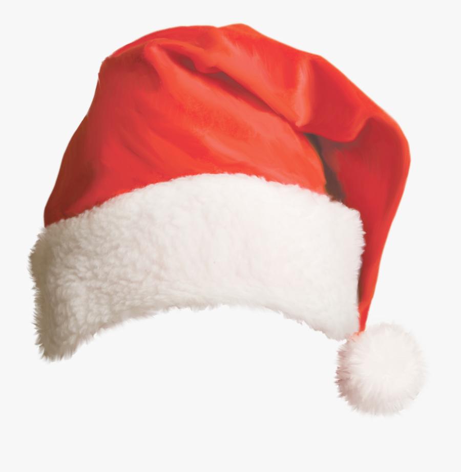 Santa Claus Christmas Hat Bonnet - Transparent Background Santa Hat Png, Transparent Clipart