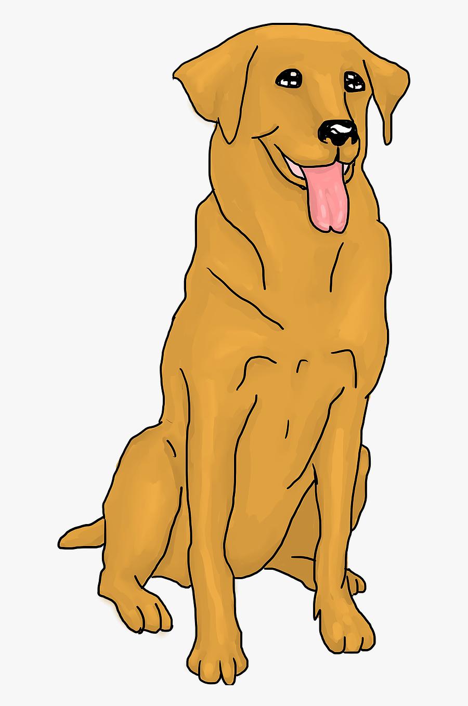 Dog Yawns, Transparent Clipart