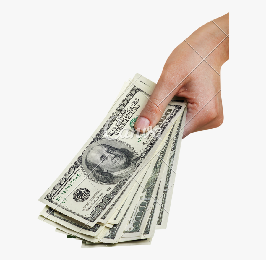 Photography,paper Product,money Changer - Hand Holding Money Png, Transparent Clipart