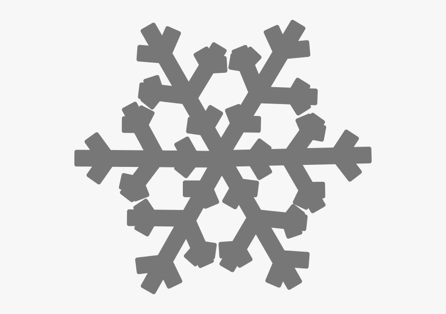 Cartoon Snowflake Transparent Background, Transparent Clipart