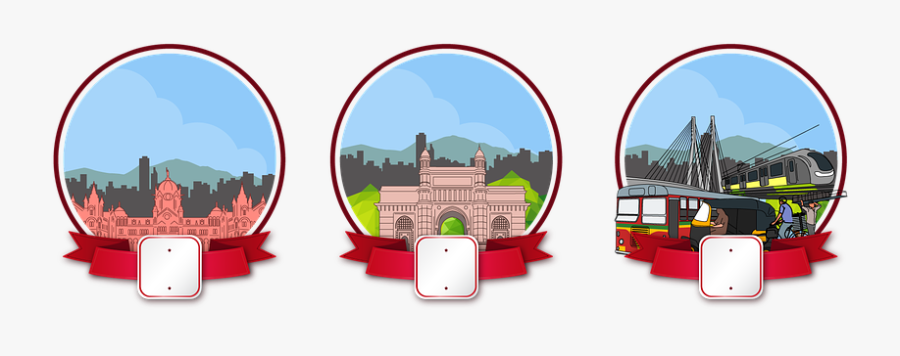 Mumbai, Transparent Clipart