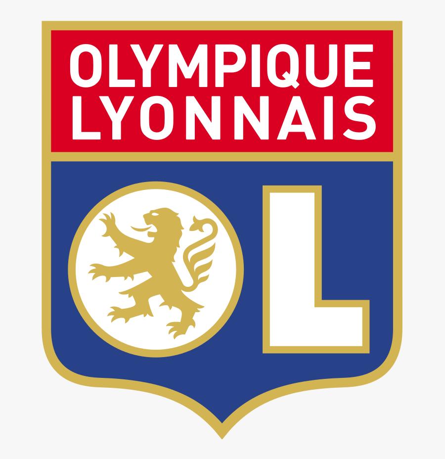 Logo Olympique Lyonnais Png, Transparent Clipart