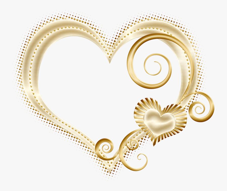 Фотки Golden Heart, Heart Of Gold, Love Heart, Heart - Gold Love Heart Png, Transparent Clipart