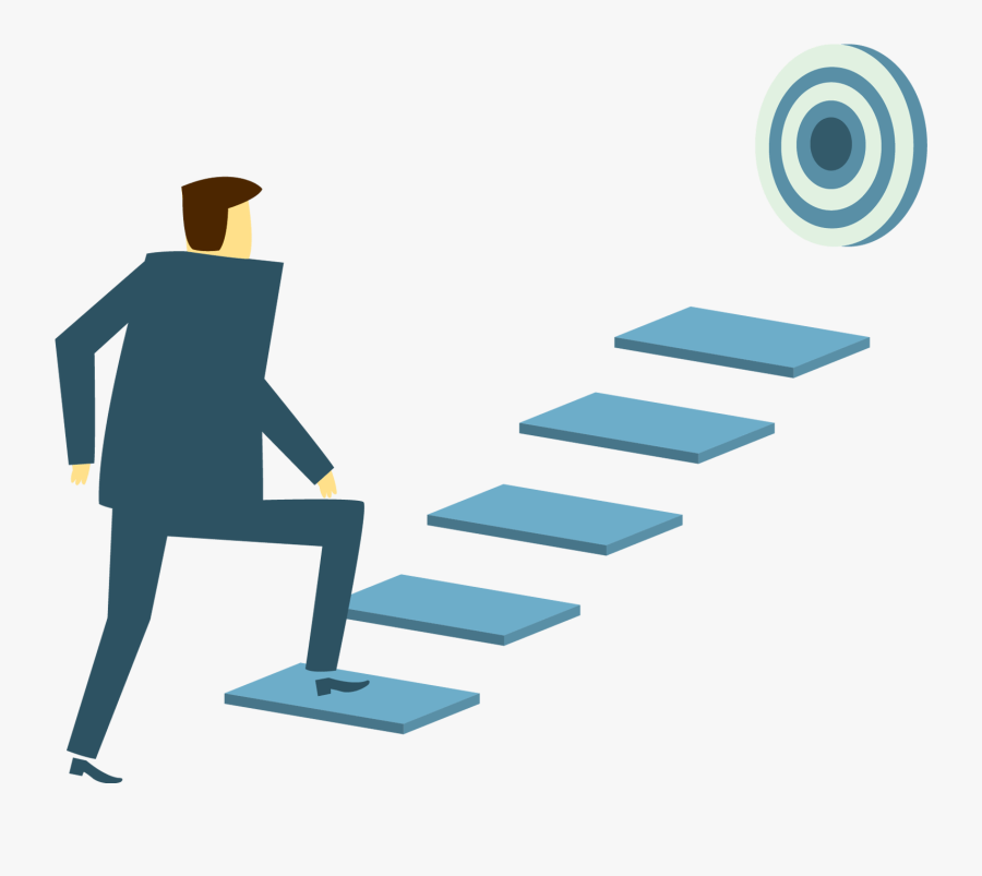 Itfist Innovation That Evolve - Clipart Png Climbing Stairs Goals, Transparent Clipart