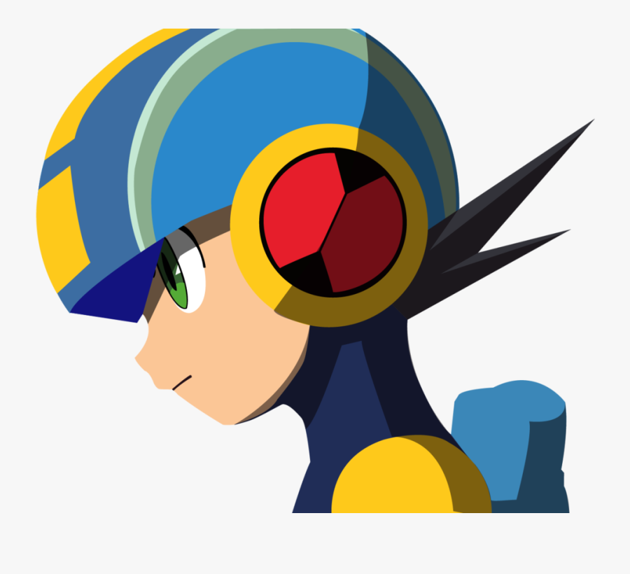 High Detailed Megaman Exe By Hamptc On - Megaman Profile, Transparent Clipart