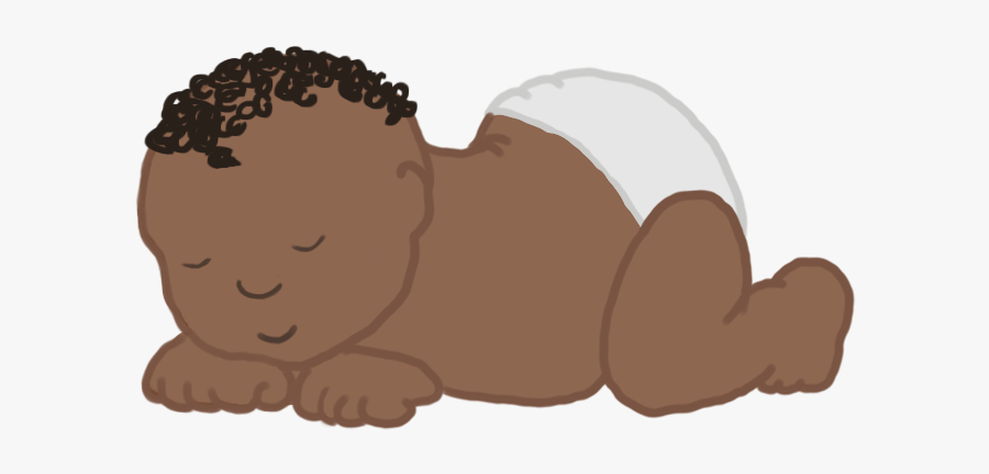 Tiny Sleeping Baby Clipart - Animal, Transparent Clipart