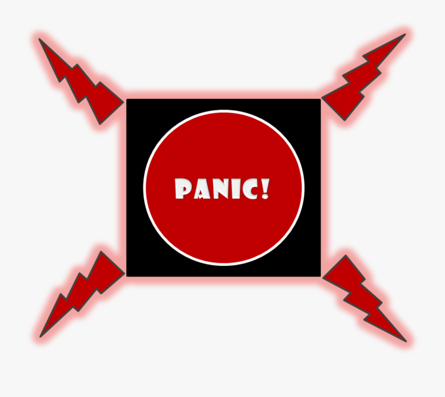 Panic Button, Transparent Clipart