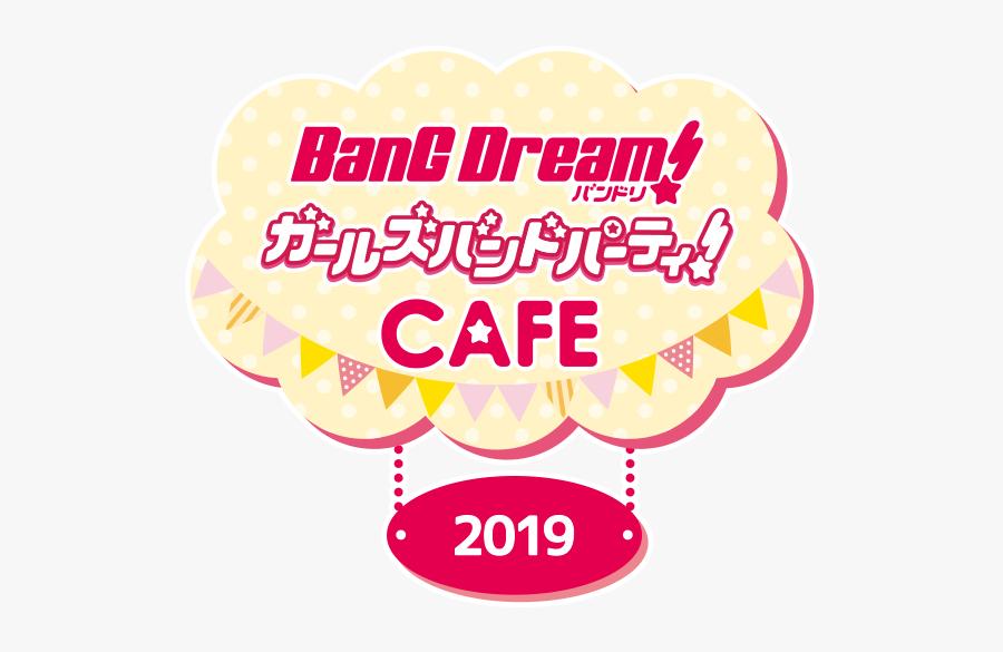 Bang Dream Girls Band Party Logo, Transparent Clipart