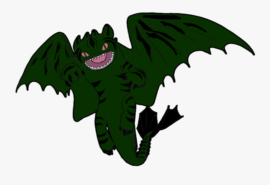 Kiwi Clipart Hiccup - Train Your Dragon Night Fury, Transparent Clipart