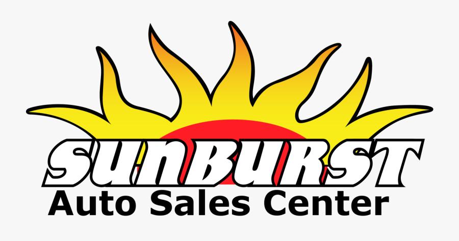 Sunburst Auto Sales, Transparent Clipart