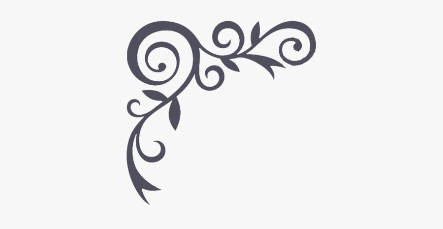 Free Ornate Border Vector Png - Border Calligraphy Design Background, Transparent Clipart
