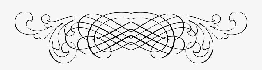 Flourish Clipart Header - T Shirt Border Design Png, Transparent Clipart