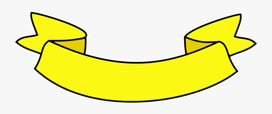 Clip Art Banner Amarelo Png - Unicornio Png, Transparent Clipart