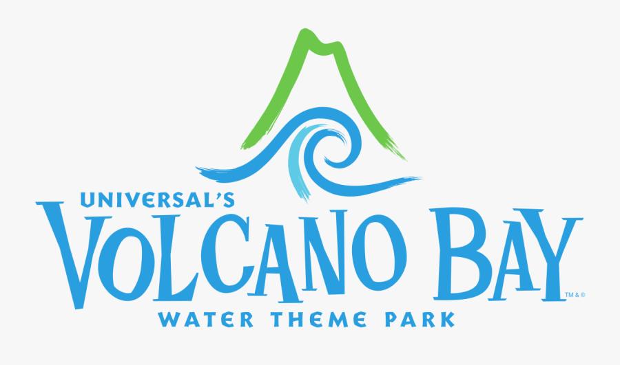 Universal Studios Volcano Bay Logo, Transparent Clipart