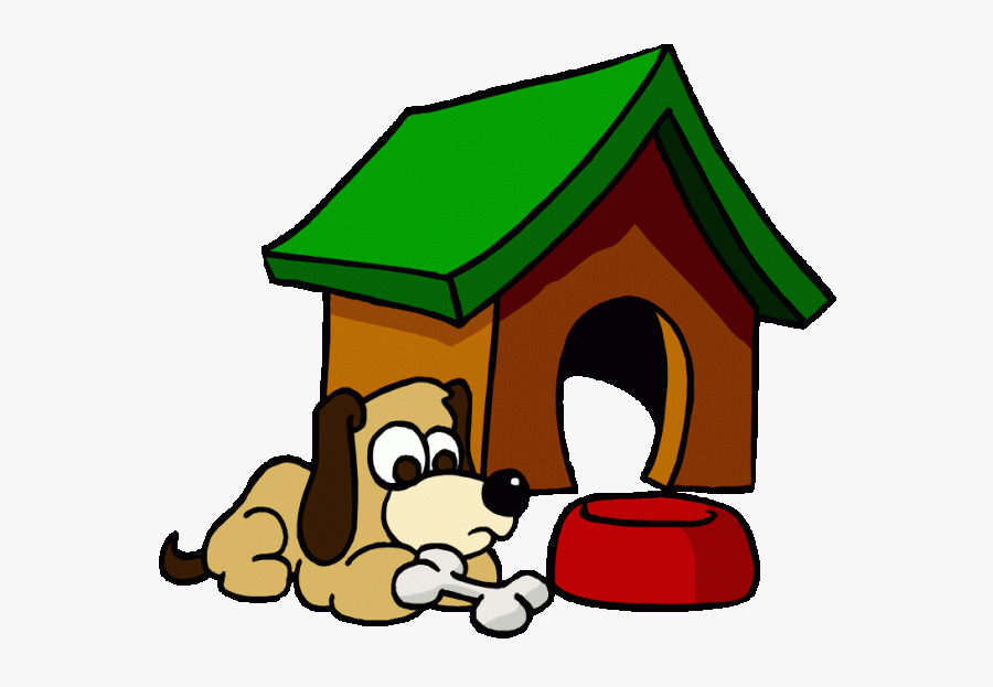 Dog House Clipart - Outside Dog House Clipart, Transparent Clipart