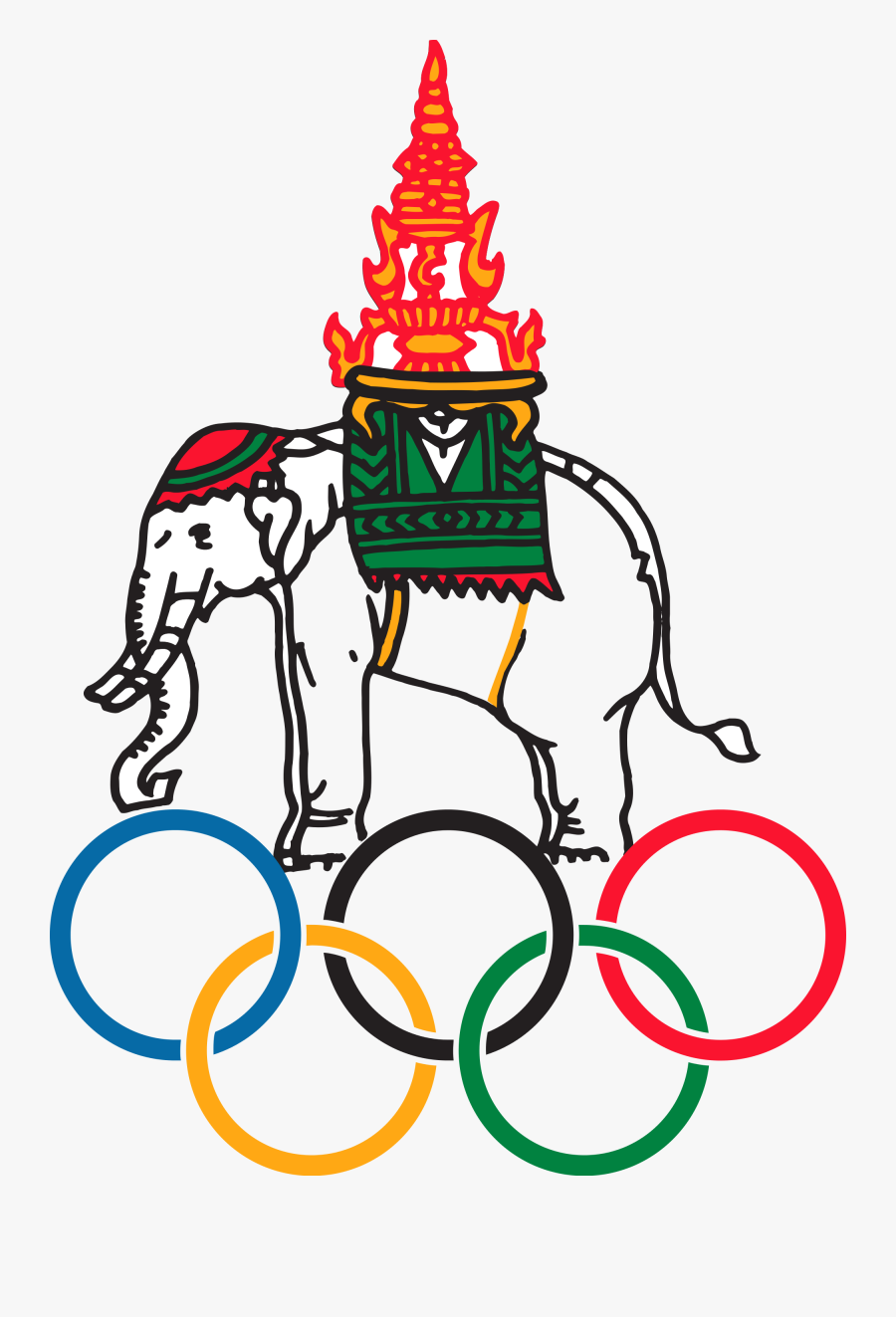 National Olympic Committee Of Thailand Sport Logos - National Olympic Committee Of Thailand, Transparent Clipart