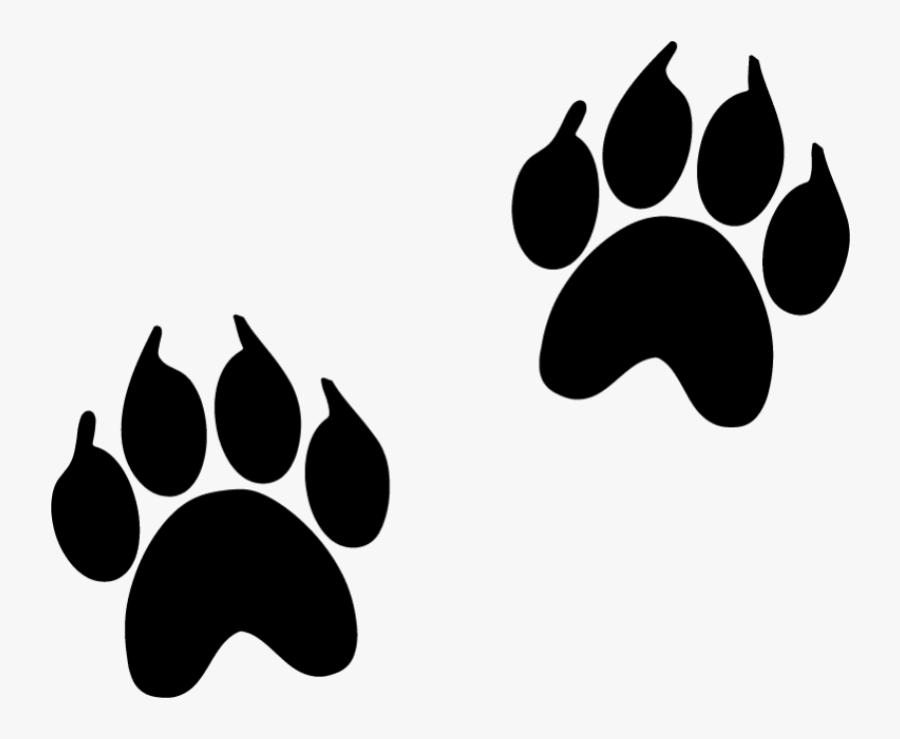 Animal Track Footprint Paw Dog Animal Footprint Black Free Transparent Clipart Clipartkey