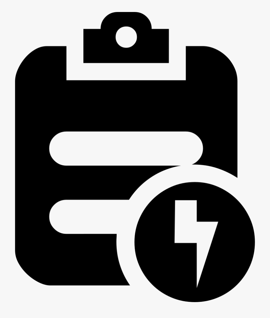 Svg Png Icon Free - Electricity Bill Payment Icon, Transparent Clipart