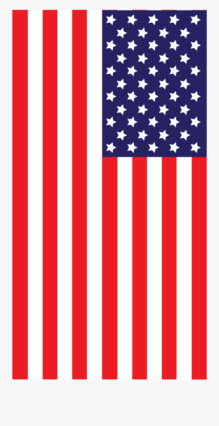American Flag, Transparent Clipart