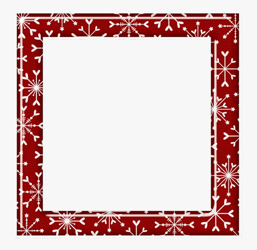 Square Christmas Frame Png Pic - Square Christmas Frame Png, Transparent Clipart