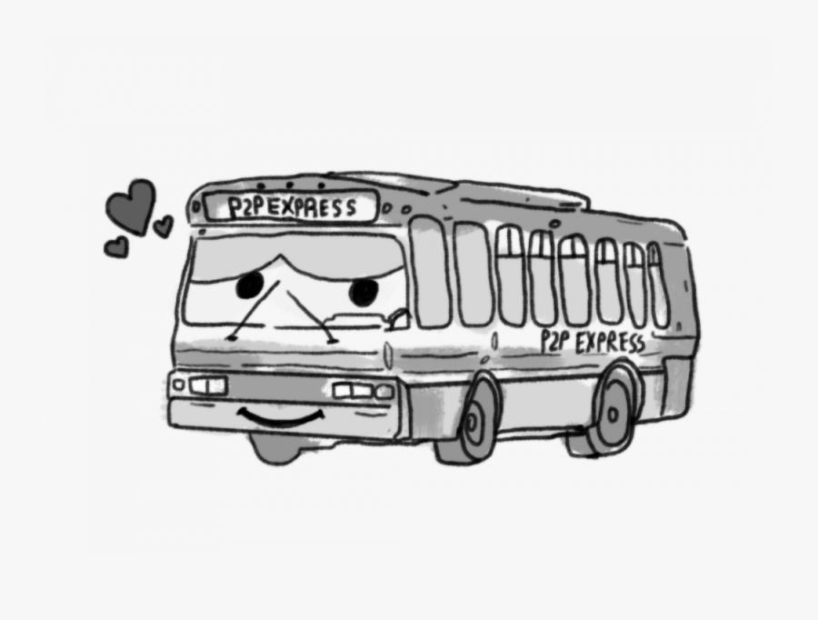 A Love Letter For The Night Bus - Tour Bus Service, Transparent Clipart