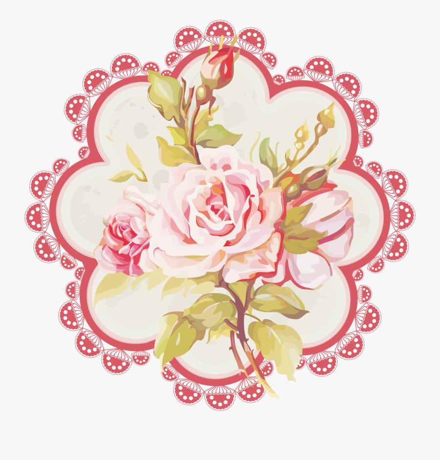 Pink,cut Flowers,flower,clip Art,rose,plant,garden - Flower, Transparent Clipart