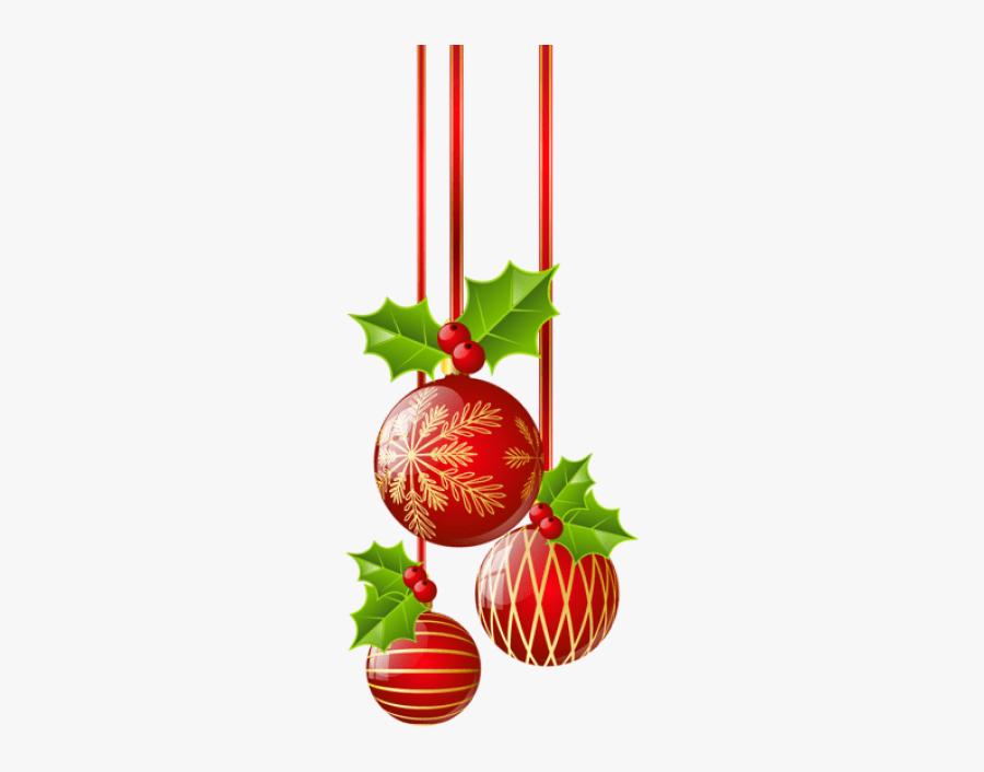 Christmas Decoration Clipart - Transparent Background Free Christmas Clipart, Transparent Clipart