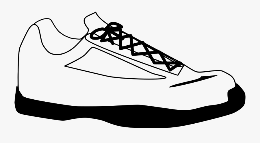 Tennis Shoe Clip Art, Transparent Clipart