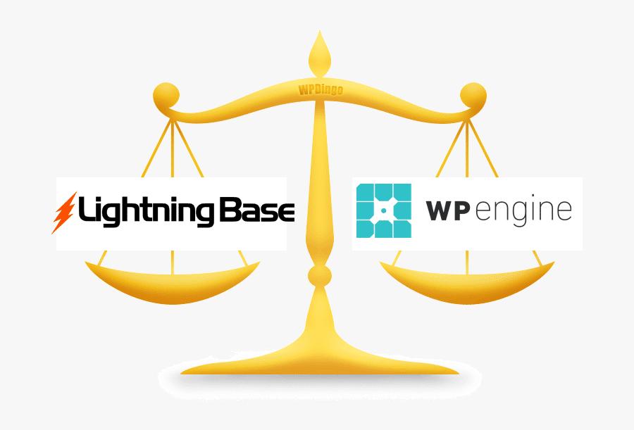 Lightning Base Vs Wp Engine - Graphic Design, Transparent Clipart