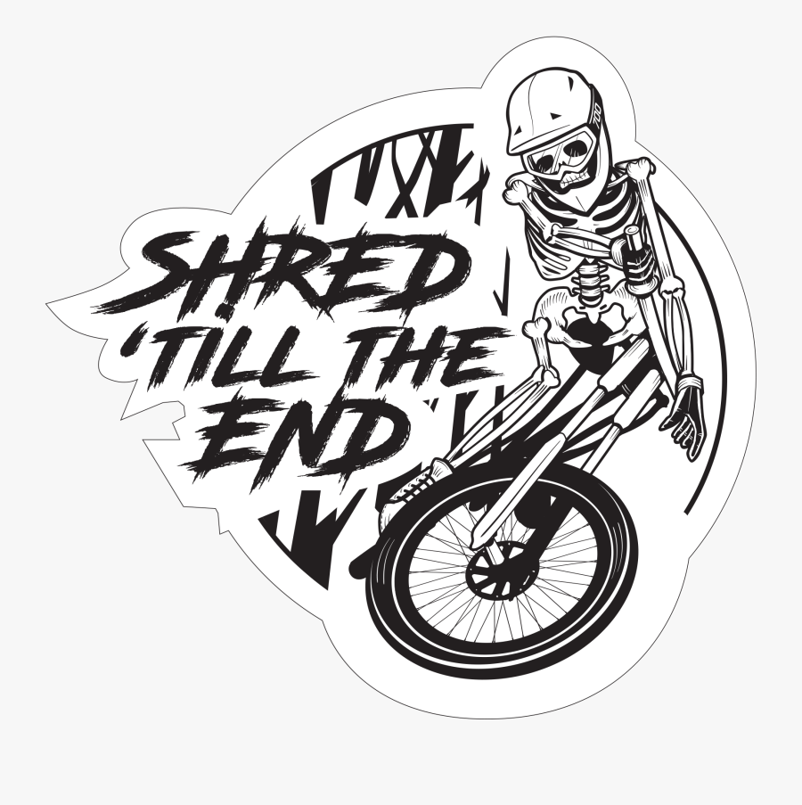 Shred Till The End - Street Unicycling, Transparent Clipart