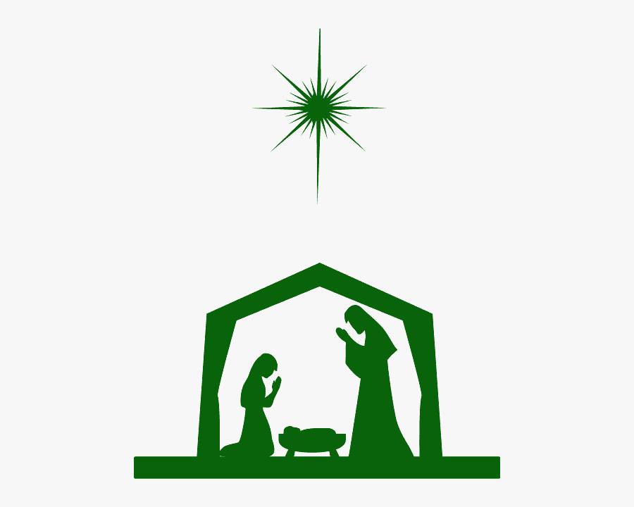 Transparent Background Nativity Scene Png, Transparent Clipart