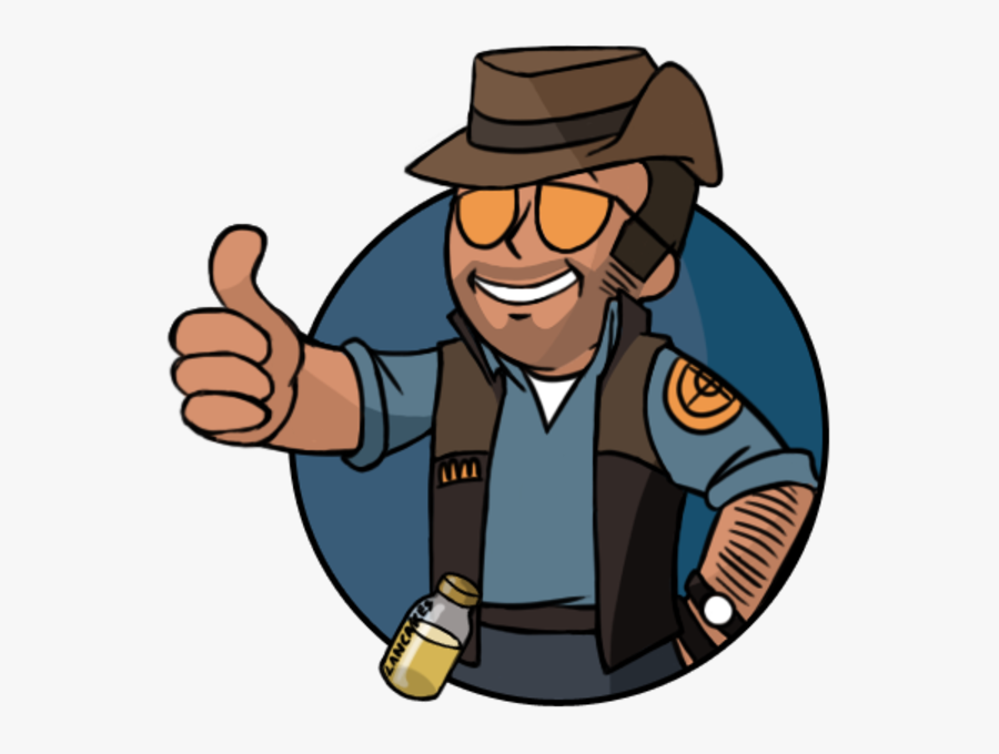 Team Fortress - Team Fortress 2 Png, Transparent Clipart