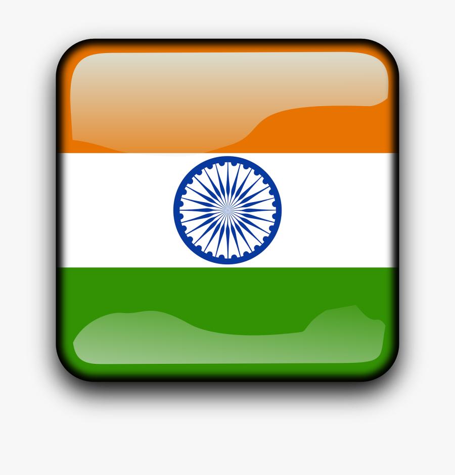 Flag Of India, Transparent Clipart