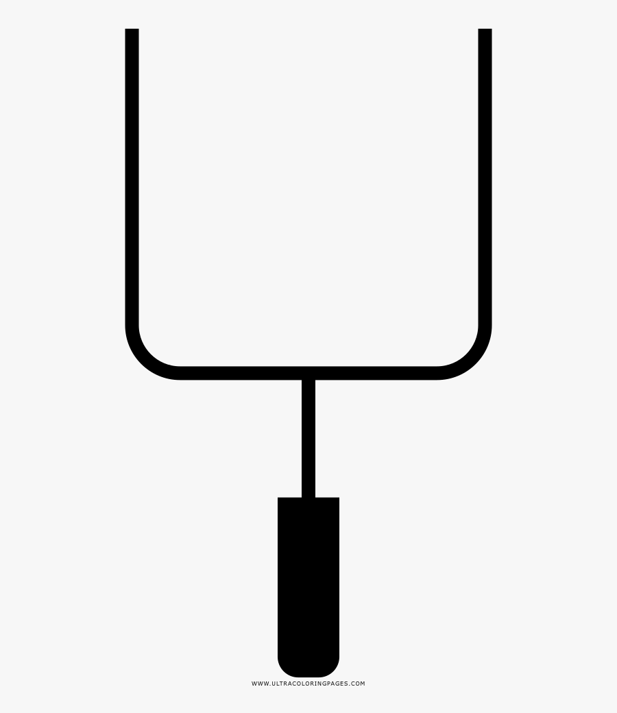 Field Goal Post Coloring Page, Transparent Clipart