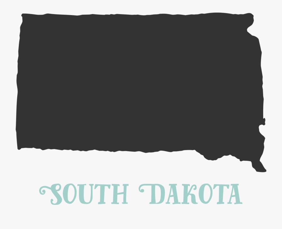 South Dakota Svg Cut File, Transparent Clipart