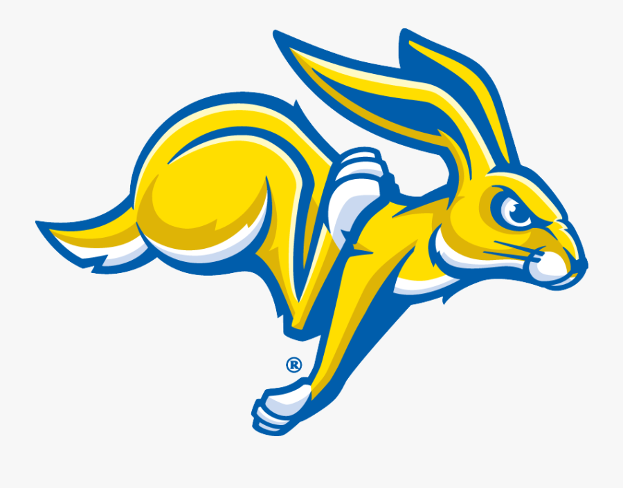 South Dakota State Jackrabbits - Sdsu Jackrabbits Logo, Transparent Clipart