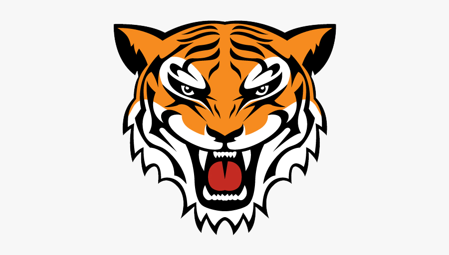 Simple Tiger Face Drawing , Free Transparent Clipart ...