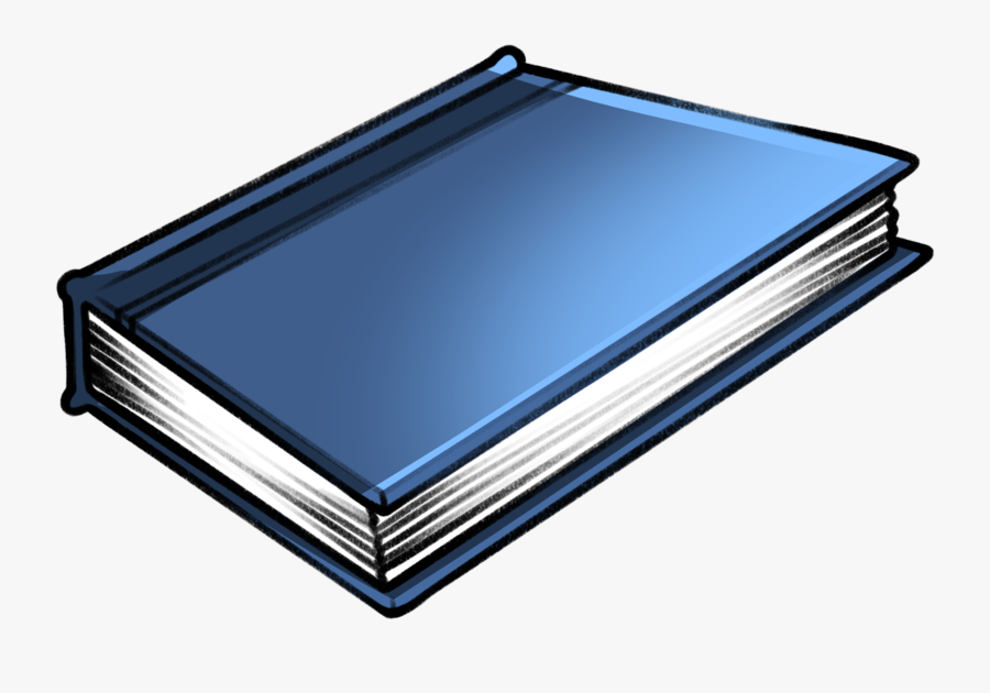Closed Book Clipart - Book Cover, Transparent Clipart