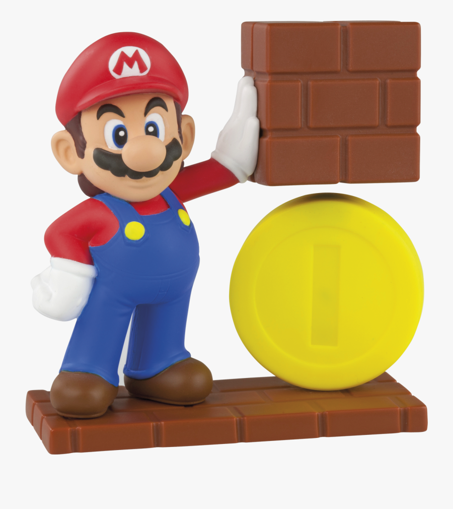 Mario Coin Happy Meal Toy, Transparent Clipart