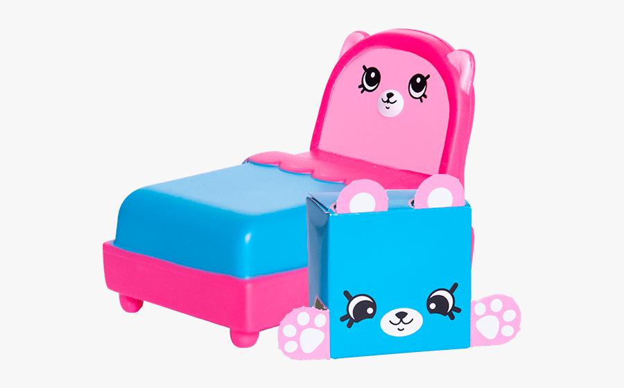 Shopkins Toy Bed, Transparent Clipart