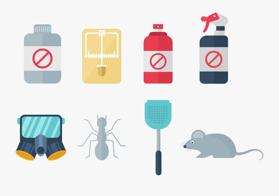 Pesticide Icon Family Pest - Rat, Transparent Clipart