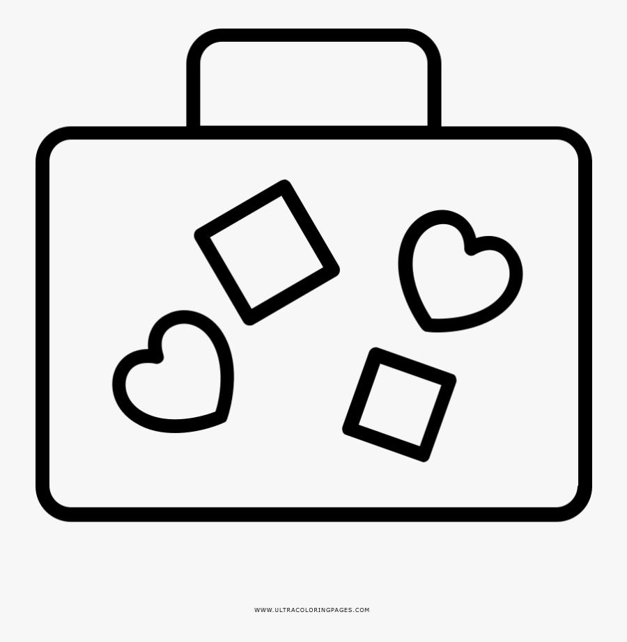 Honeymoon Coloring Page - Line Art, Transparent Clipart