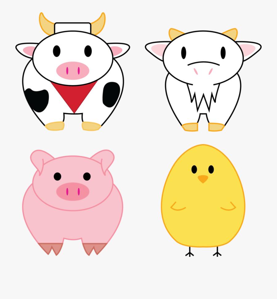 Free Download Farm Animals Png Clipart Farming Simulator - Cartoon, Transparent Clipart