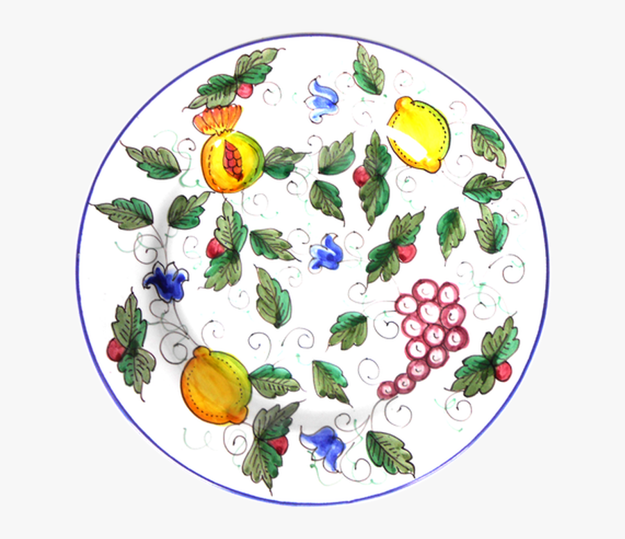 Dinner Plate Frutta Piena - Circle, Transparent Clipart